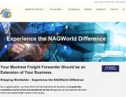 NAGWorld homepage screenshot-2019