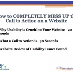 Website Usability Video - Call to Action - Slide 6