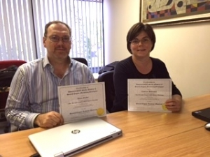 Photo of SEO Workshop Grads Catherine & Wayne